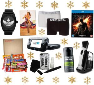 christmas gift ideas mens boyfriend husband brother watch calendar american sweets candy wii u batman dvd blu ray beard trimmer underpants iphone case hair product