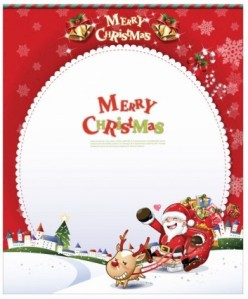 Free-Christmas-Card-with-Santa-Claus